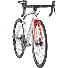 Orbea Orca Aero M20Team, silver/bright red/carbon